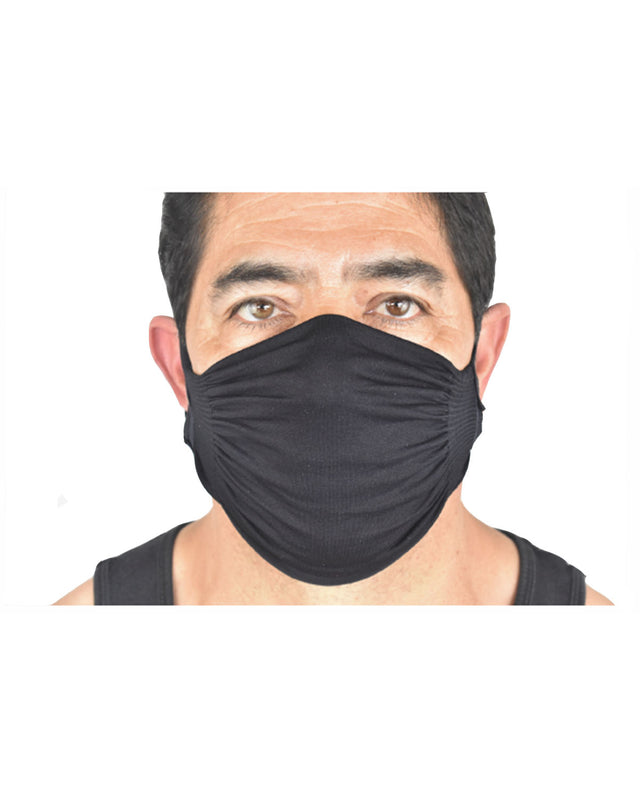 DOUBLE LAYER, SEAMLESS, NYLON ADJUSTABLE MASK