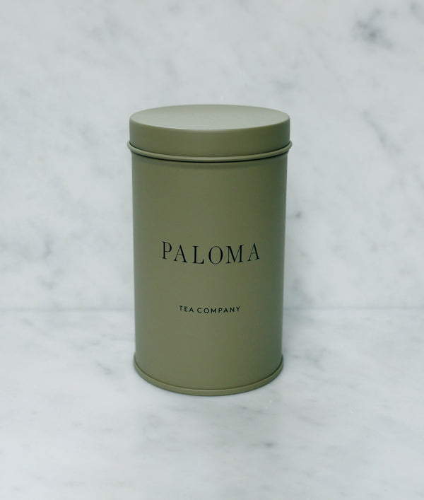 Paloma Little Tea Tin - Forrest Leaves