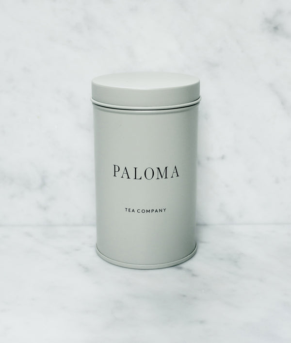 Paloma Little Tea Tin - Sandy Beach Grey