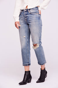 Perfectly Distressed Denim