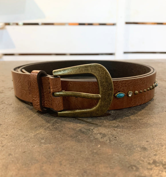 Turquoise Embelished Belt