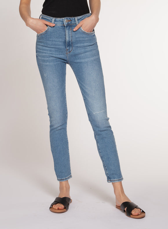 Lexi Mid Rise Skinny Jeans