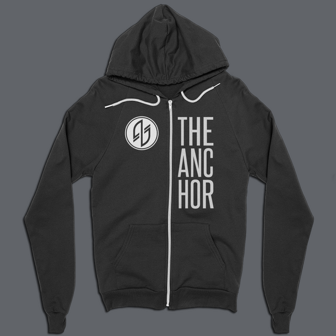 ANCHOR ZIP-UP HOODIE