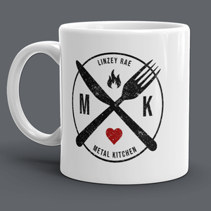 METAL KITCHEN MUG 11oz