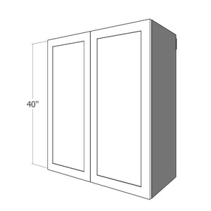 "W2D-3040 Two 15"" Wide Doors for 30"" Wide IKEA Sektion 40""H Wall Cabinet"