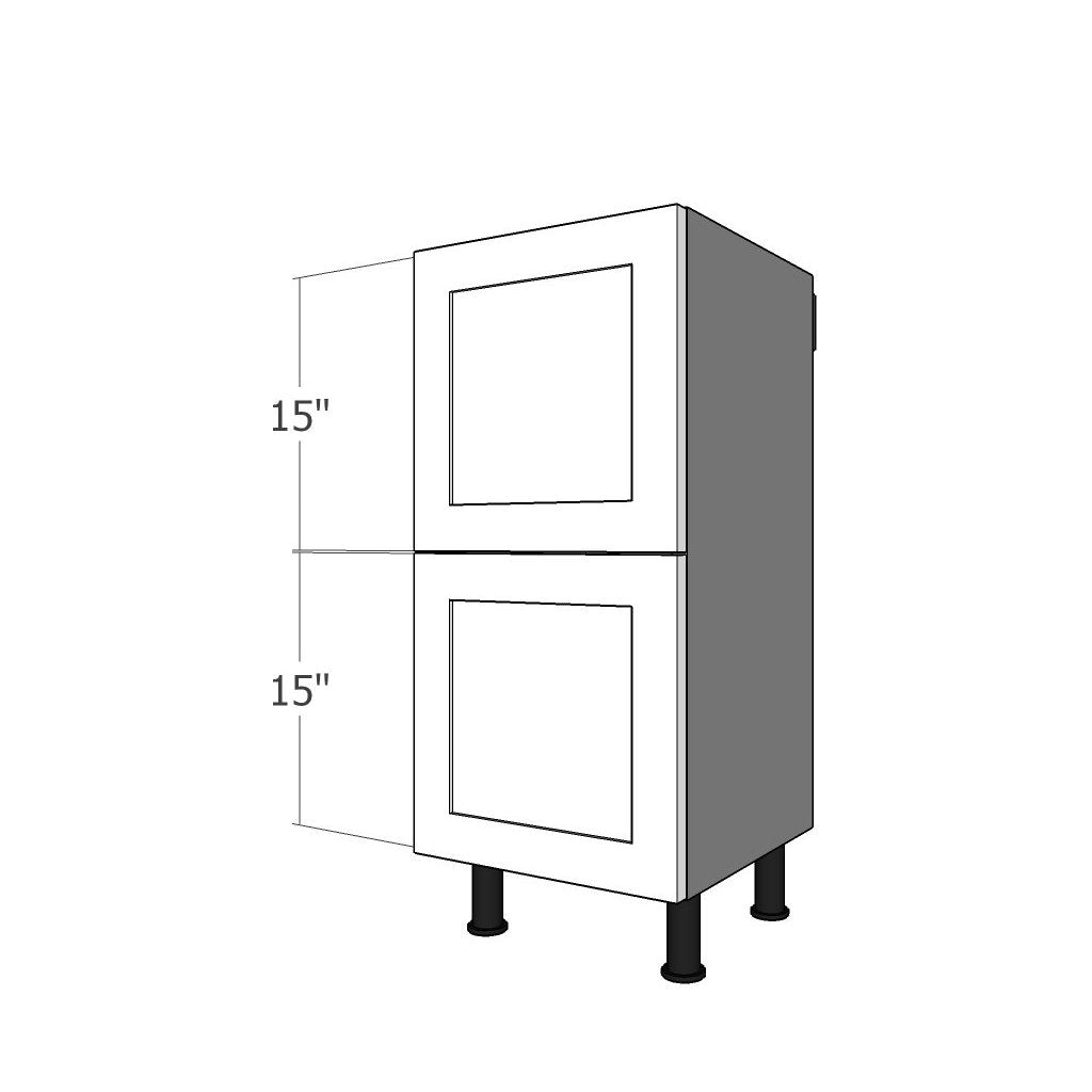 BDF-2L-15 Two Drawer Set for 15