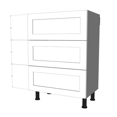 BDF-3M-18 Three Drawer Set for 18