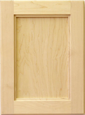 Canyon 5pc Hard Maple Sample Door - RAW