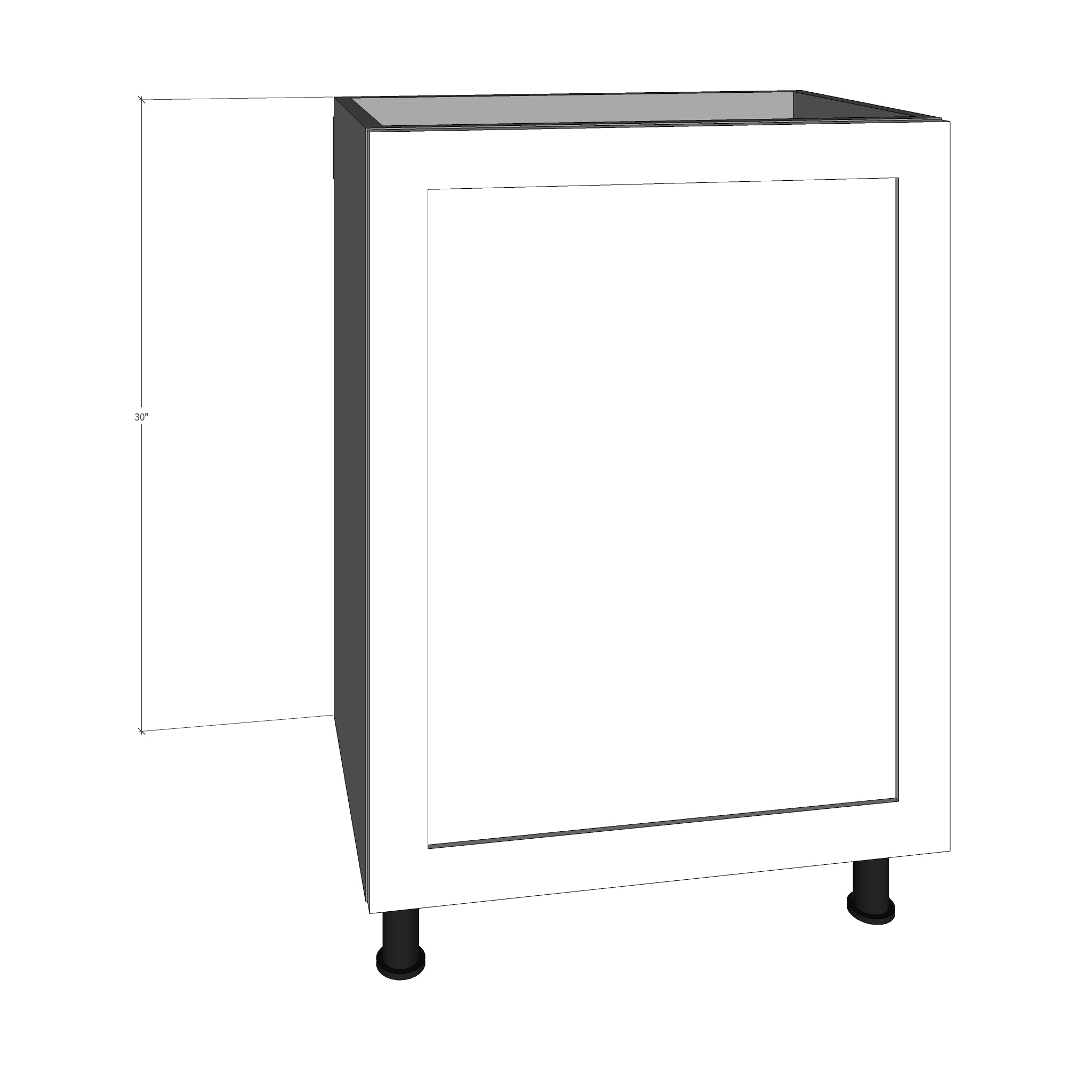 Bpo 24 Pullout Door For 24 W Ikea Sektion Base Cabinet Allstyle