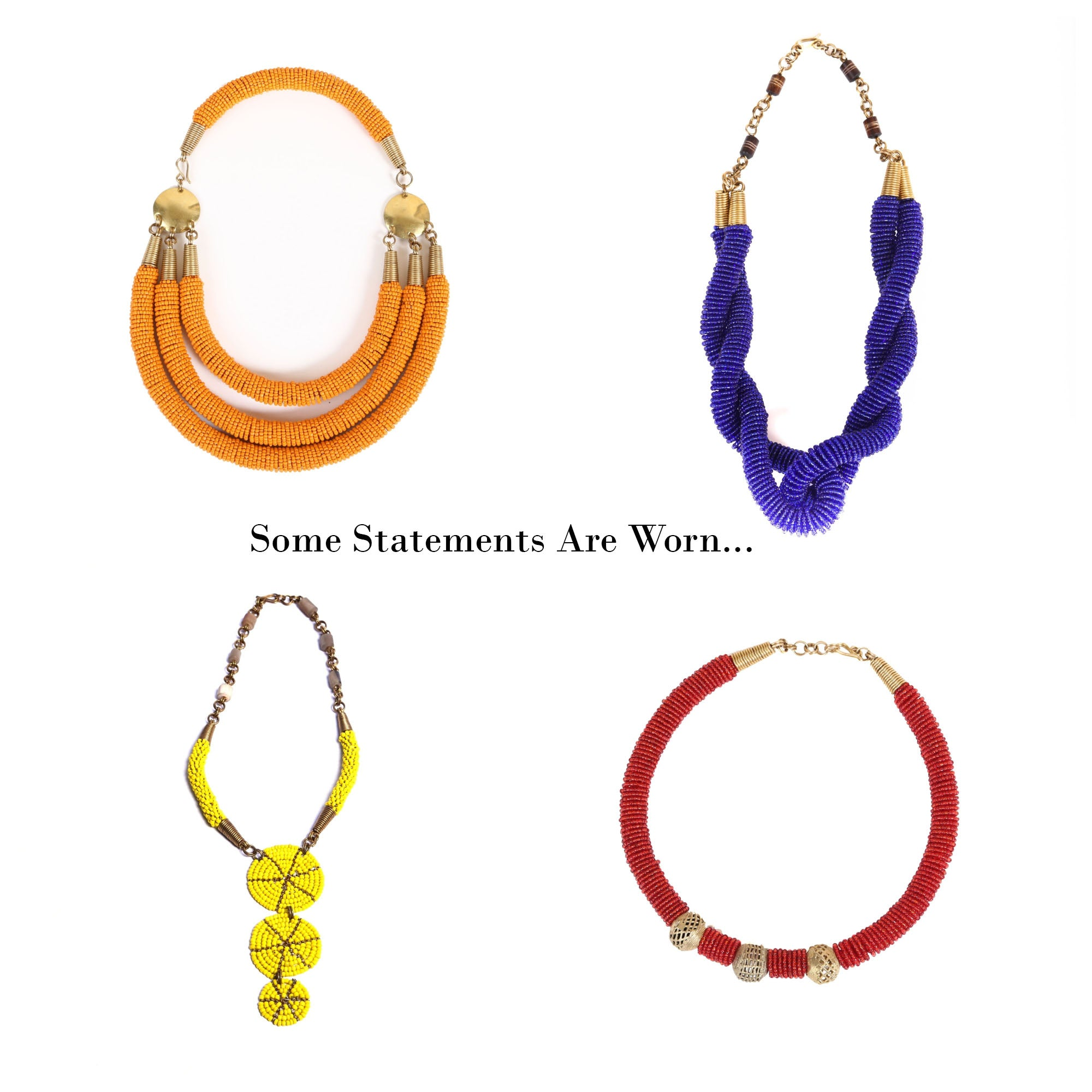 Summer Kick Off Sale: 30% Off Statement Necklaces