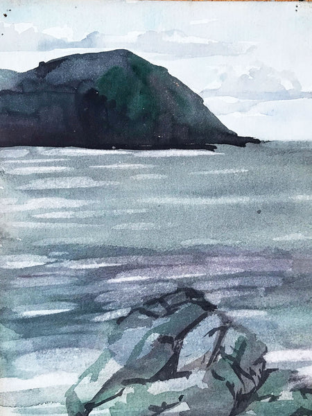 Early C20th Seascape scene by Dora Bard
