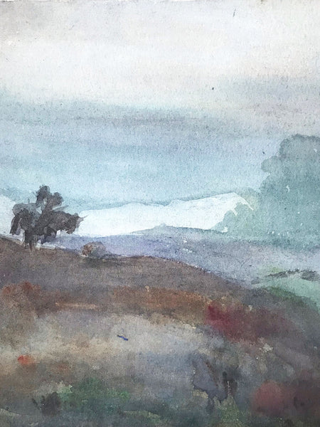 Early C20th Landscape scene by Dora Bard