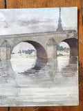 Early C20th Watercolour by Dora Bard
