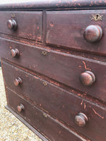 Ruby Red Chest of Drawers