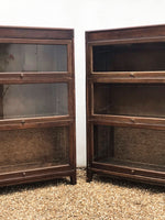 Pair of Gunn Barrister Bookcases