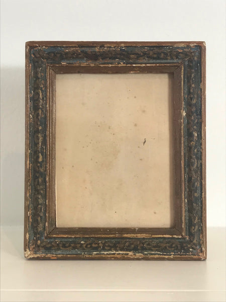 19th Century Small Painted Picture Frame