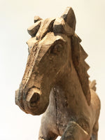 Hand Carved Decorative Wooden Horse