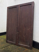 Victorian Dispensation Cabinet with Distressed Mirror