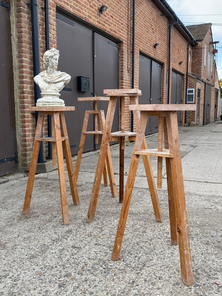Wooden Sculptors Modelling Stands