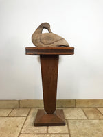 Hand Carved Wooden Duck