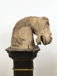 Hand Carved Wooden Horses Head