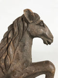 Hand Carved Wooden Horse