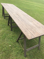 10FT Pine Trestle Tables