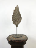 Hand Carved Wooden Casting Mould of a Wing