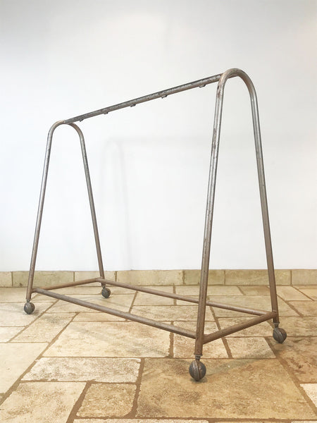 Clothes Display Rails on Casters