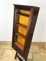 Mahogany Glass Display Cabinet