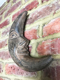 Wooden Man in the Moon - Wall Hanging