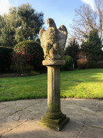 Vintage Weathered Stone Eagle