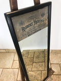 Ebonised Victorian Advertising Mirror