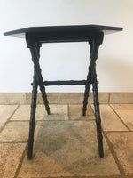Victorian Ebonised Occasional Table - Aesthetic Movement