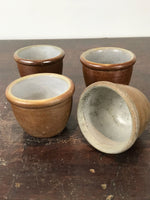 Collection of x4 Salt Glazed Derbyshire Stoneware