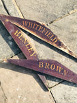 Antique School House Signs from The Crypt, Gloucester