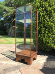 Art Deco Glass Shop Display Cabinet