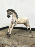 Large Vintage Wooden Decorative Horse