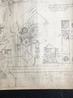 Original Pencil Drawing of 'End of Shrine' by Amor Fenn