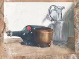 Victorian Still Life Watercolour by Dora Bard