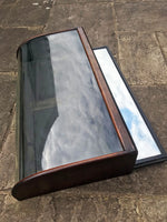 Curved Glass Victorian Display Cabinet