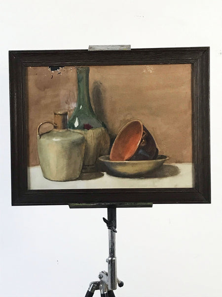 Victorian Still Life Watercolour