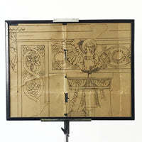 Framed Plans of an Architectural Carving