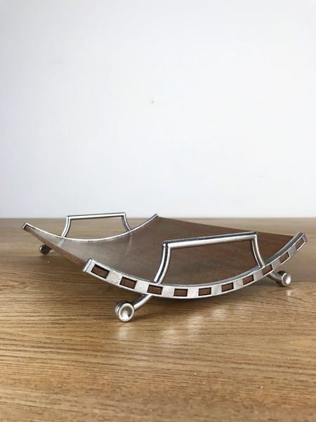 Mid Century Design Wooden Tray