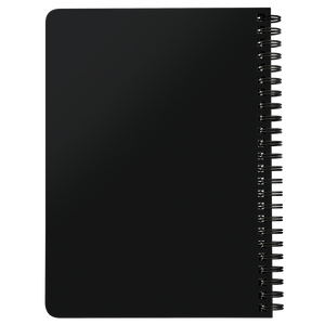 Love is Color Spiral Notebook Black