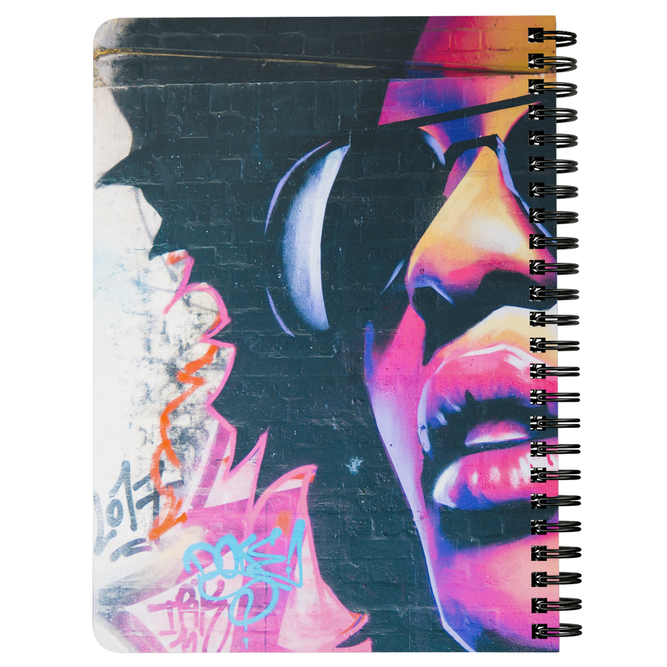 Be A Legend Spiral Notebook