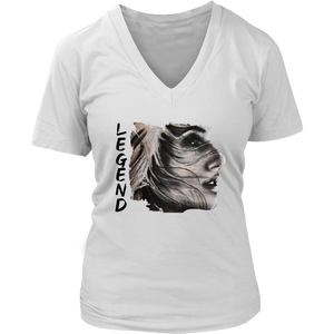 Be Beautiful V-Neck White
