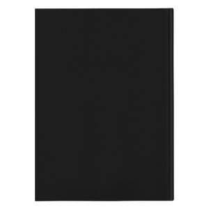 Be Beautiful Strong Hardcover Journal Black