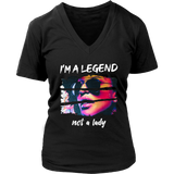 Be a Legend V-Neck T-shirt