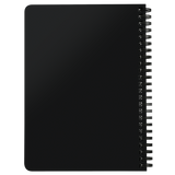 Be A Legend Spiral Notebook Black